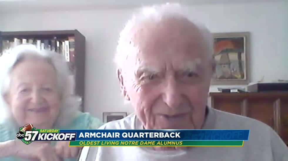 Armchair Quarterback: Joe Newman, oldest living Notre Dame alum