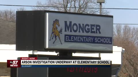 Student(s) ignite fire at Monger Elementary School
