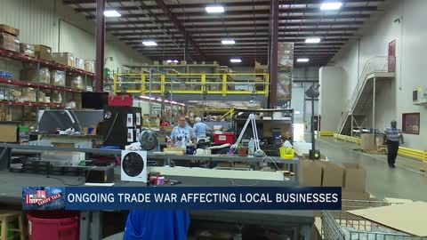 Ongoing trade war affecting businesses in Elkhart