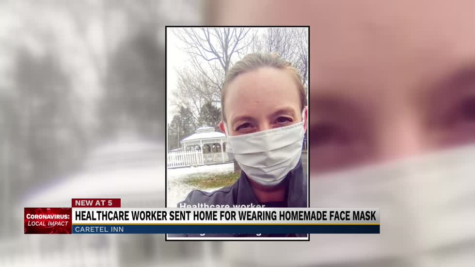 Assistant nurse in Berrien County sent home for wearing homemade protective mask