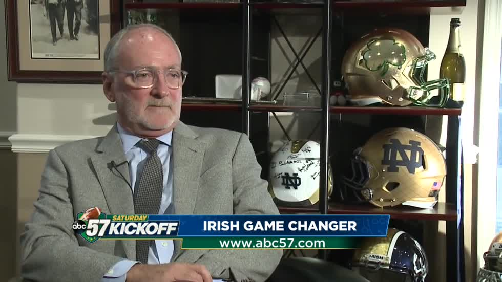 Althletic Director Jack Swarbrick details his path back to Notre Dame