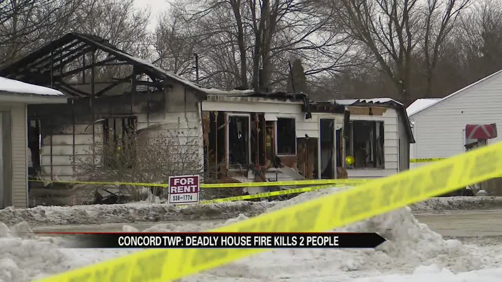 Authorities: 2 People dead after house fire in Concord Township