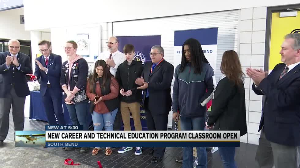 Aviation and Flight Operations Program opens for South Bend Community School students