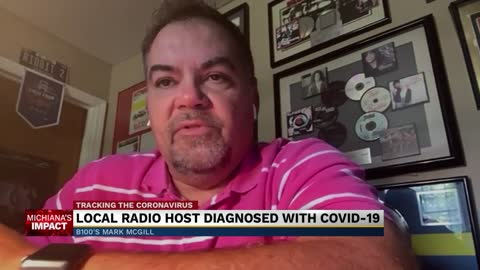 B100's Mark McGill reveals he tested positive for COVID-19