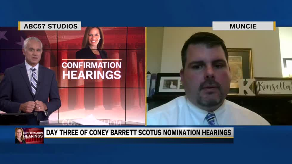 Ball State professor talks day three of confirmation hearings for Amy Coney Barrett
