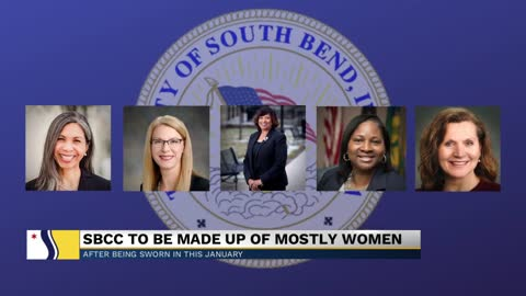 South Bend Common Council makes history with upcoming female-majority