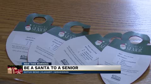 Be a Santa to a Senior campaign underway