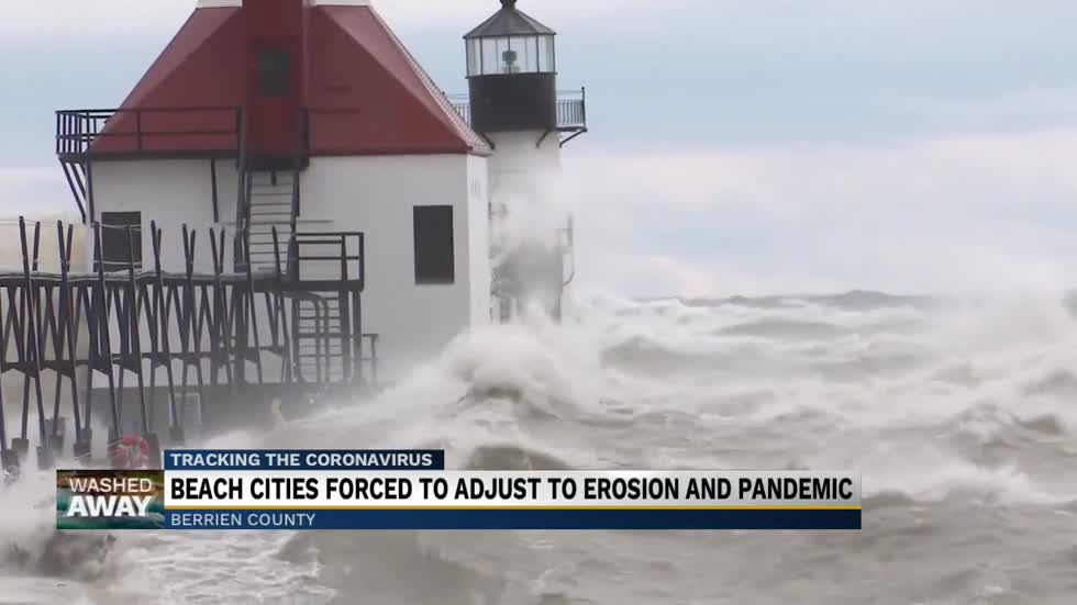 Washed Away: Beach erosion and a pandemic's effect on tourism