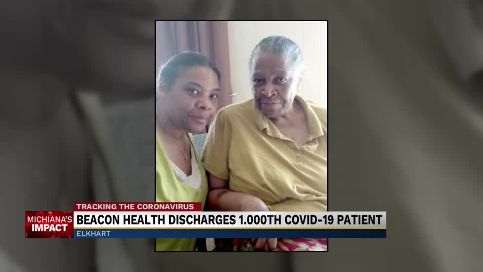 Beacon Health Group discharged their 1,000 COVID-19 patient.