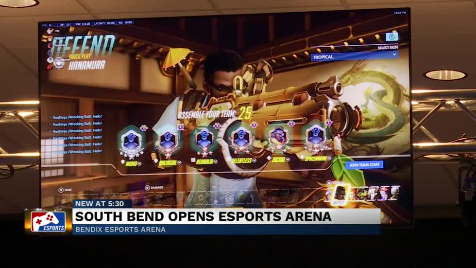 Bendix Esports Arena now open to the public