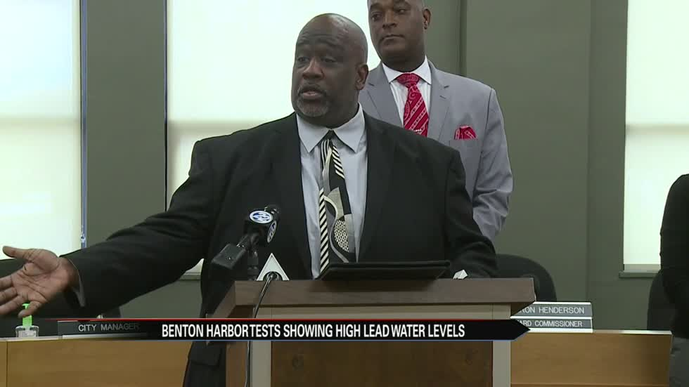 Benton Harbor announces public advisory for city water customers