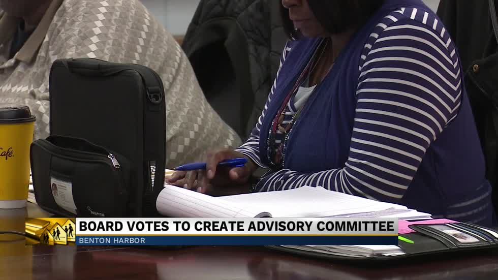 Benton Harbor Area Schools board votes to create advisory board with the state