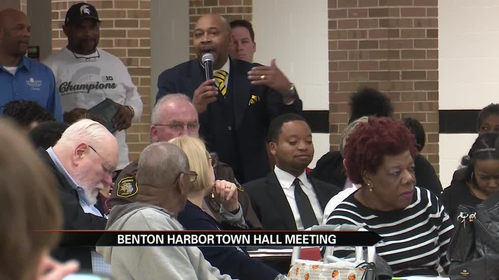 Benton Harbor Area Schools holds town hall meeting to address the future of the district