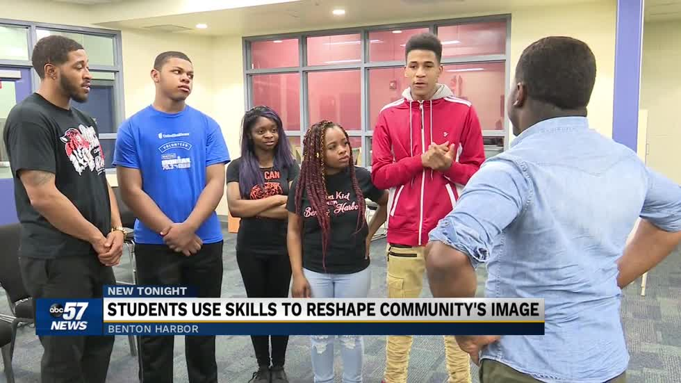 Benton Harbor Area Schools students use music to reshape the community's image