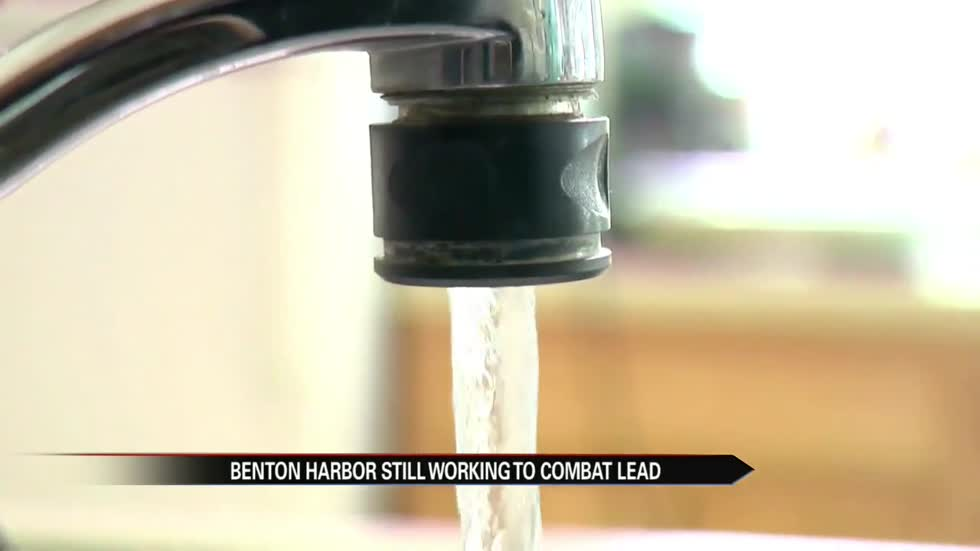 Benton Harbor continues working to combat lead.
