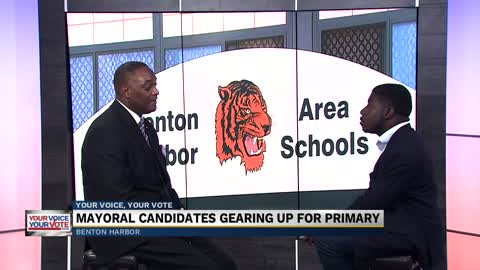 Benton Harbor Mayoral candidate Marcus Muhammad gearing up for...
