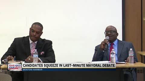 Benton Harbor Mayoral candidates debate the issues facing the community