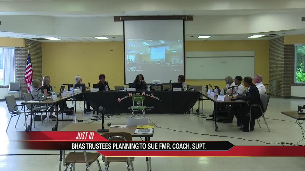 Benton Harbor school board votes to pursue legal action