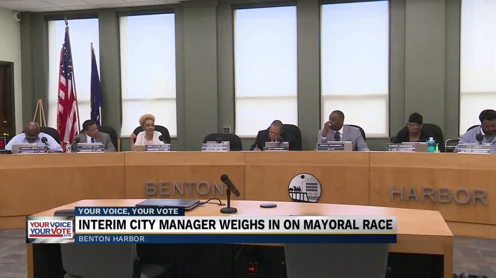 Benton Harbor's Interim City Manager weighs in on Mayoral race