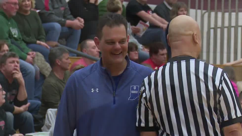 Berger earns 300th win; Sectional Final matchups set