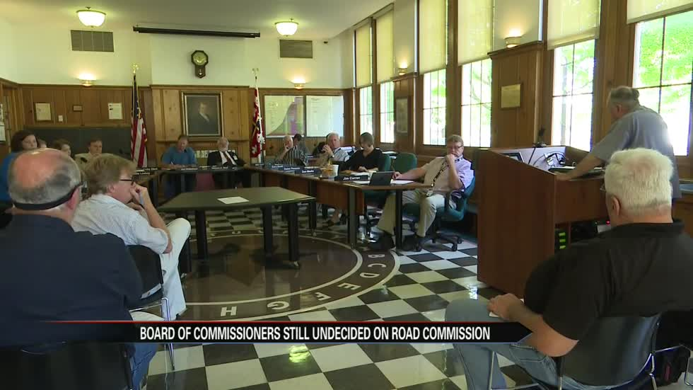 Berrien County Board of Commissioners still torn on fate of road commission