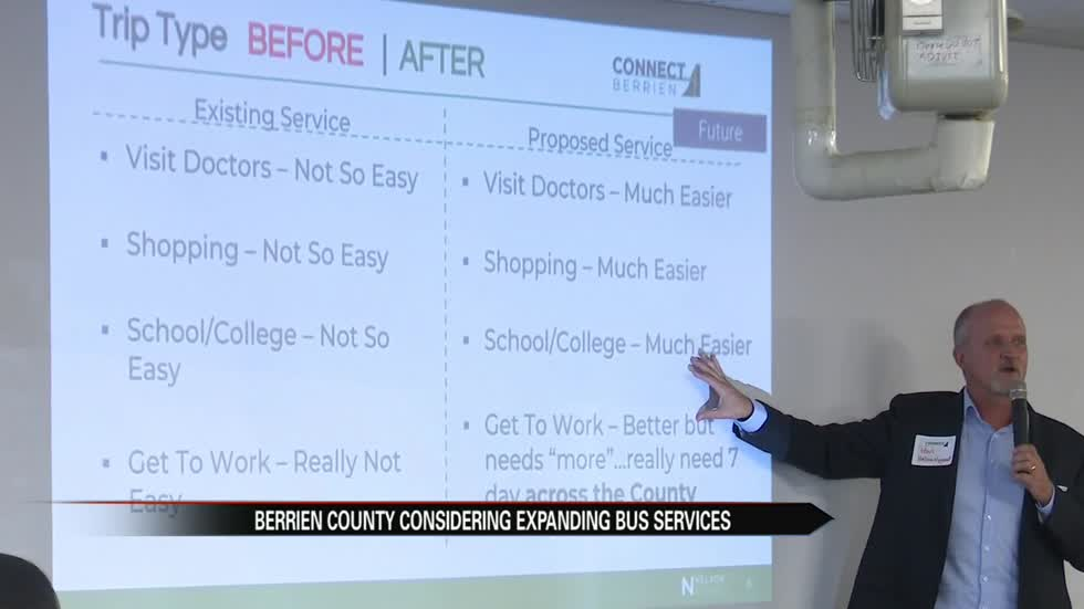 Berrien County considering expanding bus services