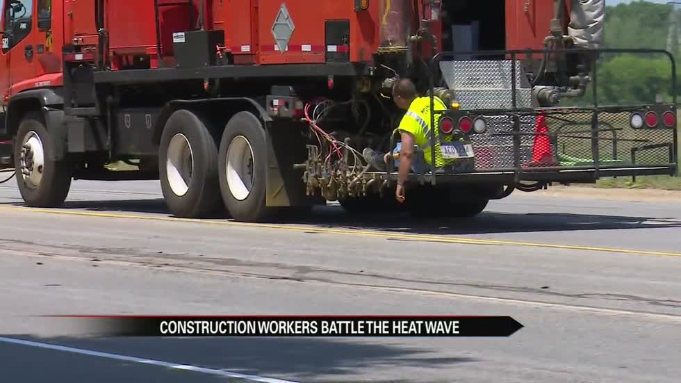 Berrien County construction continues amidst first heat wave