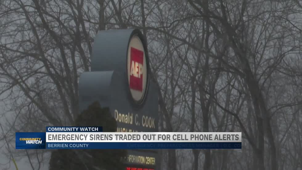 Berrien County implementing new emergency alert system through cell phones