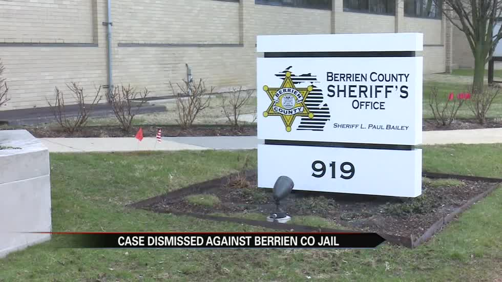Berrien County Jail sexual harassment lawsuit dismissed