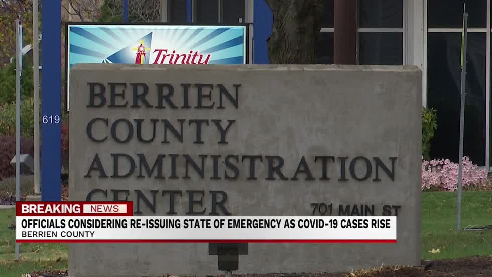 Berrien County officials alarmed by continued surge in COVID-19 cases