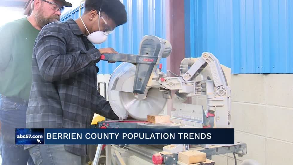 Population trends in Berrien County could affect the county's job market