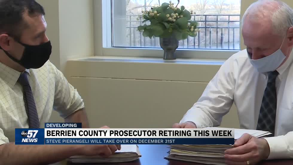 Berrien County prosecutor passes the baton