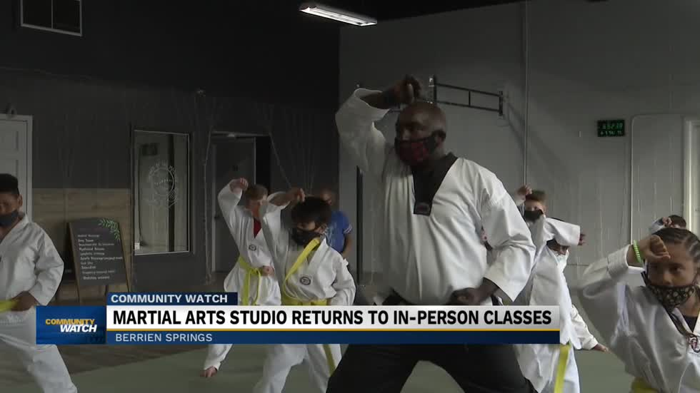 Berrien Springs Taekwondo studio returns to in-person classes