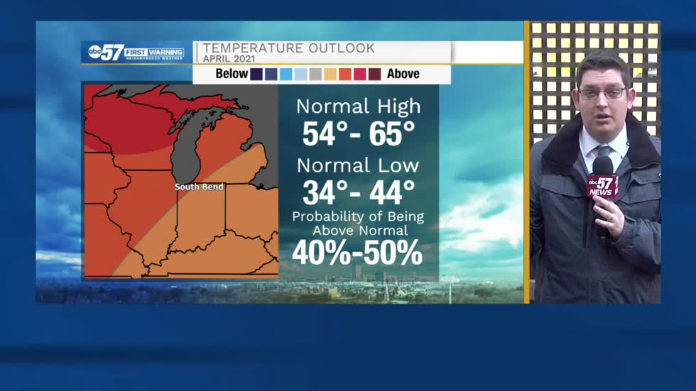 Besides early month blip, April looks warm across Michiana