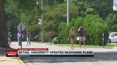 Bethel University releases updated reopening plan