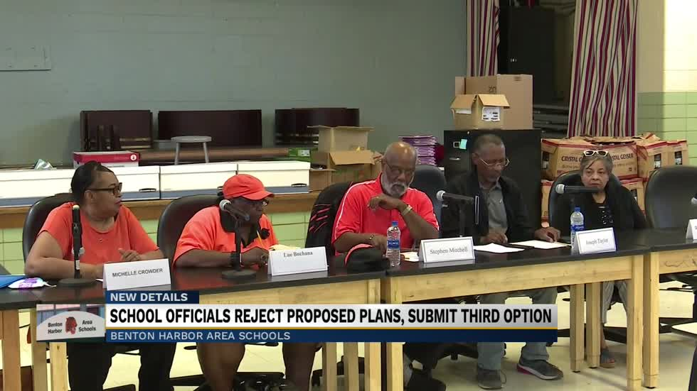 Benton Harbor School Board rejects state's proposal to close high school