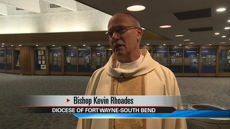 Bishop Rhoades says one priest may be added to list of those credibly accused