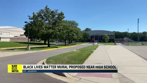 Black Lives Matter mural proposed near St. Joseph High School