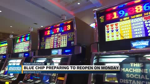 Blue Chip Casino to reopen, help boost local economy 2