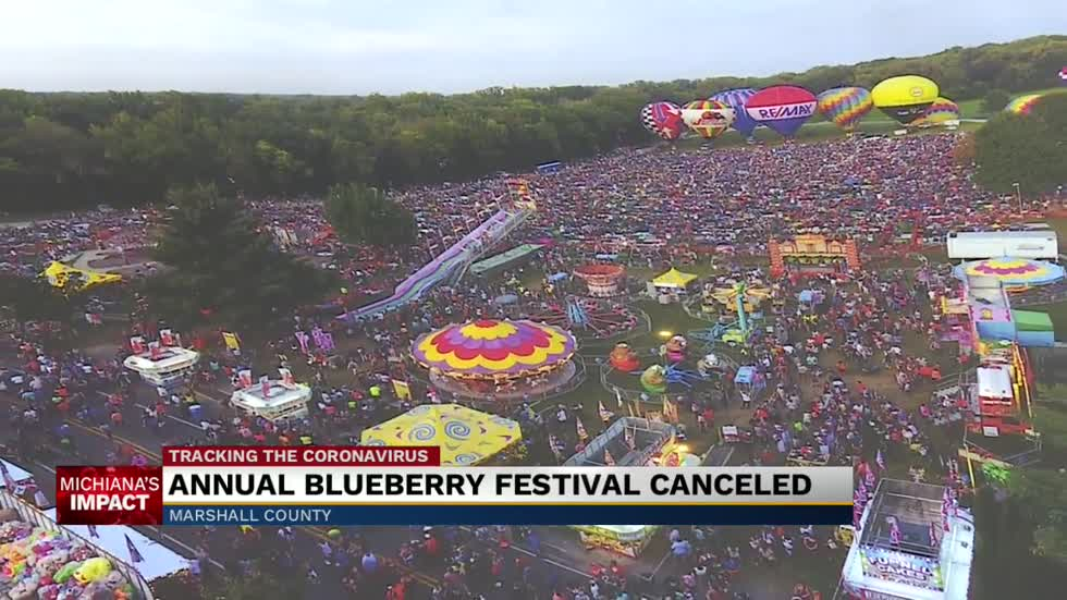 Blueberry Festivals cancellation affects Marshall County economy