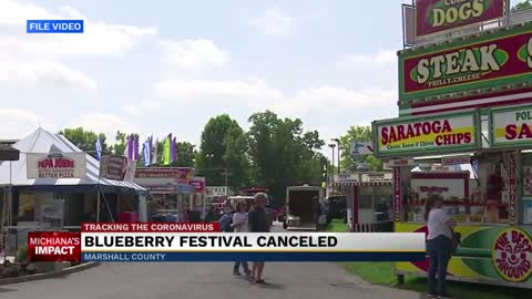 Blueberry Festivals cancellation affects Marshall County economy...