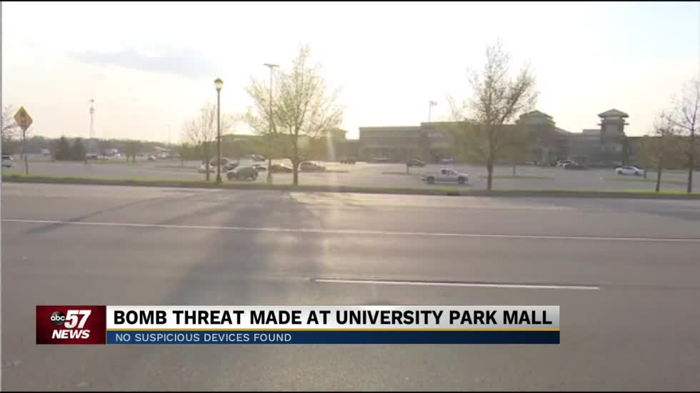 Police respond to bomb threat at University Park Mall