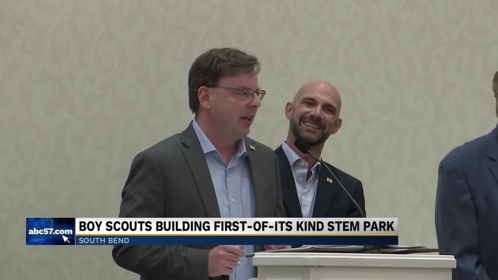 Boy Scouts building one-of-a-kind STEM park in South Bend