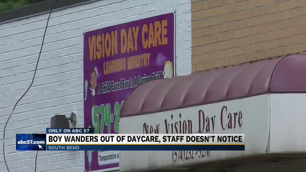 2-year-old wanders alone near Lincolnway West, South Bend mother faults local day care center