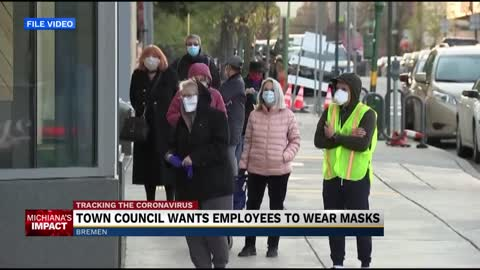 Bremen council members asking town employees to wear masks