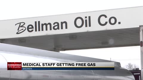 Bremen gas station offering free gas to medical workers