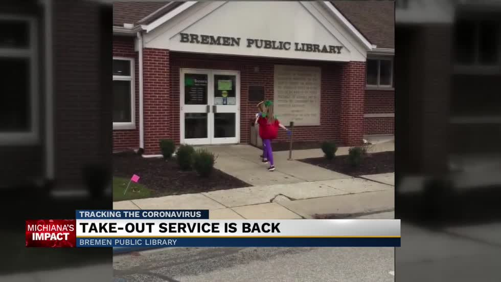 Bremen Public Library brings back take out services