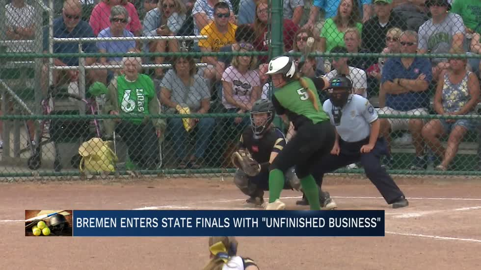 "Bremen softball enters State Finals with ""unfinished business"""