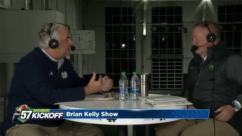 Brian Kelly Radio Show: Notre Dame vs Virginia Tech