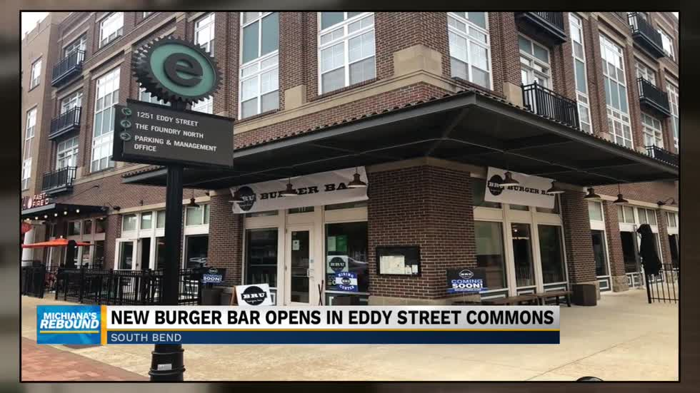 Bru Burger Bar opens newest location in South Bend
